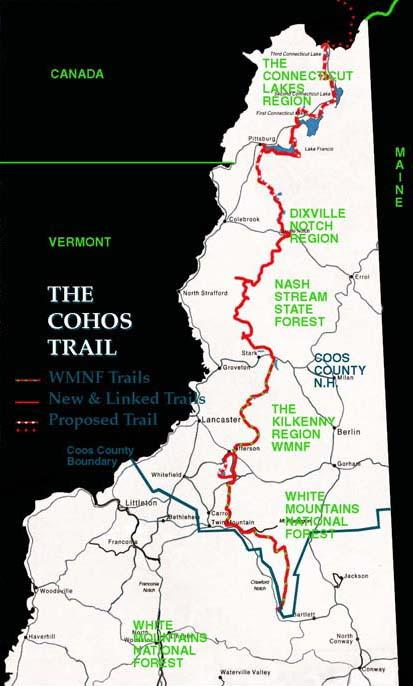 Where The Wild Things Reign Hiking The Cohos Trail New Hampshire