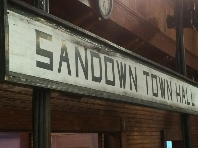 Sandown, N.H. was the first stop on Christie's presidential campaign, just hours after he announced in New Jersey.