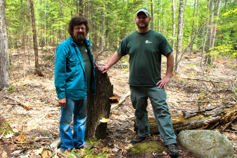 Dennis Chesley (left) and Eric Milligan