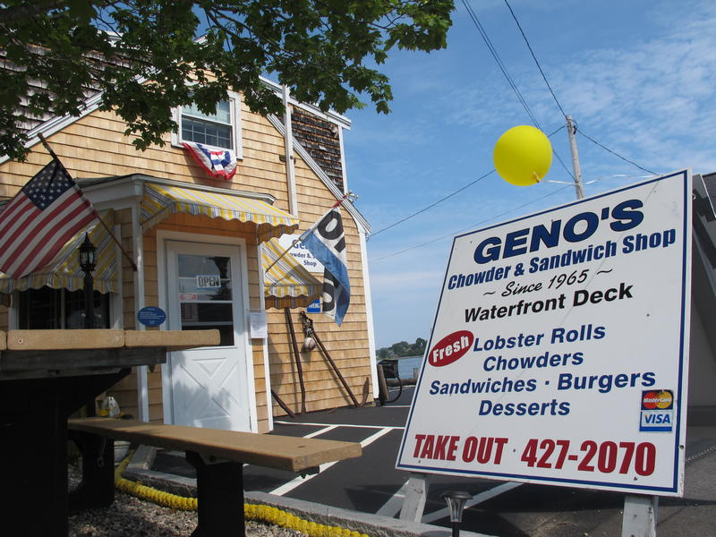 Geno's Chowder and Sandwich Shop in Portsmouth has been hosting presidential candidates for half a century.