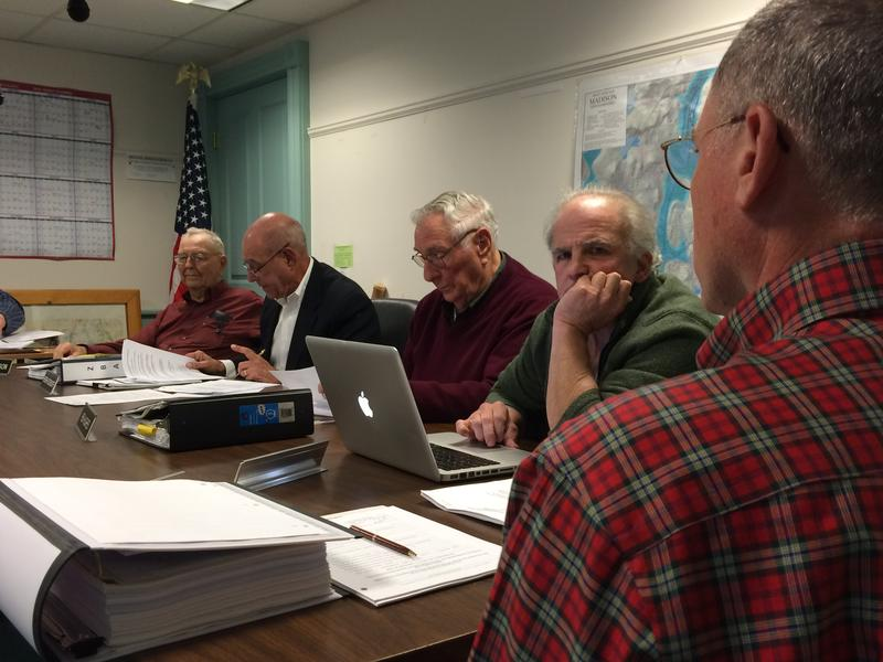 From left to right, Madison zoning board members Ken Anderson, Hersh Sosnoff, Ken Hughs, Kevin O'Neil and Stewart Lord.