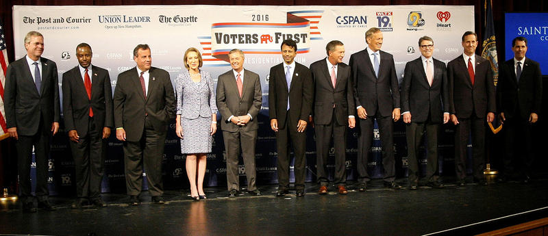 It's a crowded year on the presidential primary trail, especially on the Republican side.