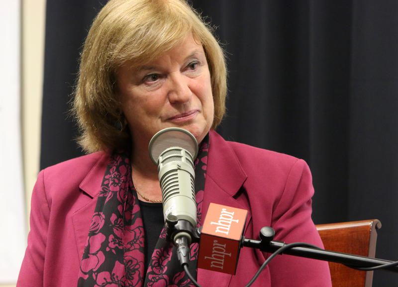 "Democratic Congressional candidate Carol Shea Porter appeared at the NHPR/UNH School of Law/Rudman Center ""Conversations with the Candidates"" on on Thursday, Oct. 23. She talked with Laura Knoy, host of ""The Exchange"" and the audience could submit questio"