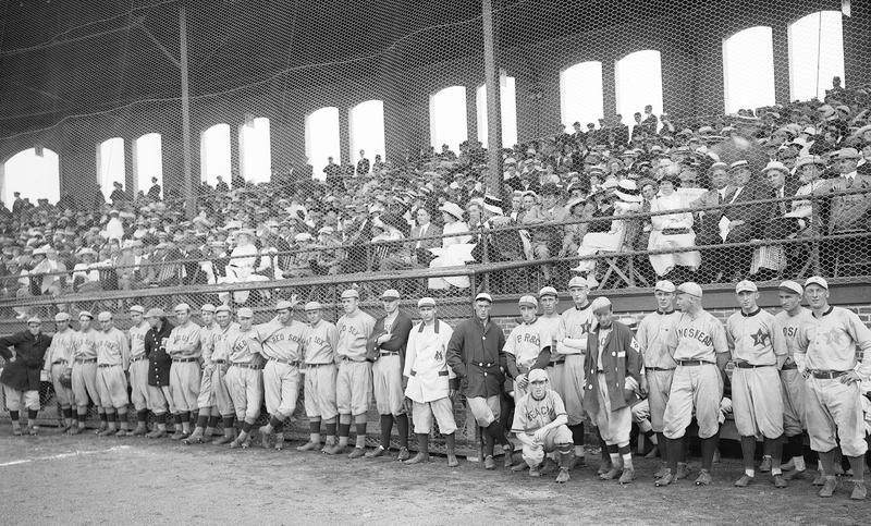 In 1913, Gill Stadium in Manchester celebrated its opening with a game featuring the Boston Red Sox and a collection of local all-star placers