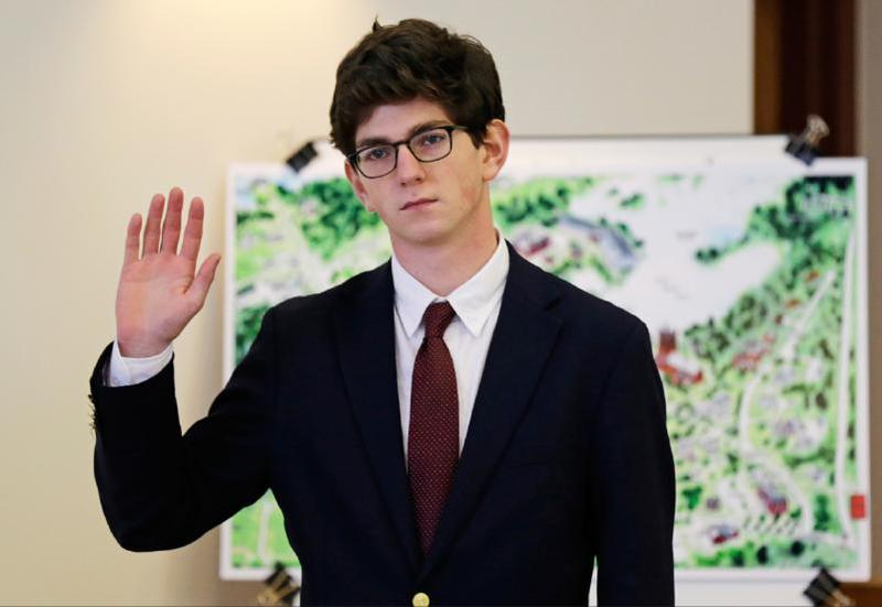 Owen Labrie, who was charged with raping a 15-year-old girl on St Paul's campus, took the stand all day Wednesday. He was the defense's only witness.