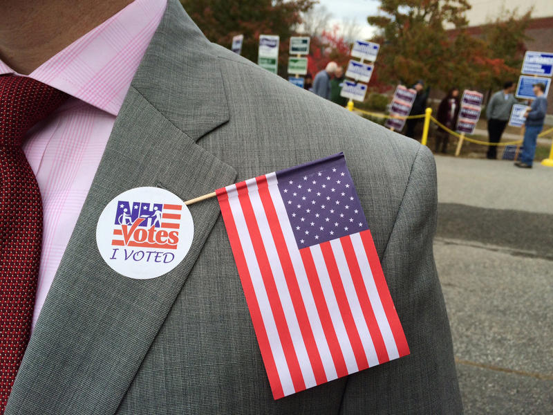 """An """"I voted"""" pin has always been okay, but taking selfies with a ballot? That's been at the center of debate in N.H."""