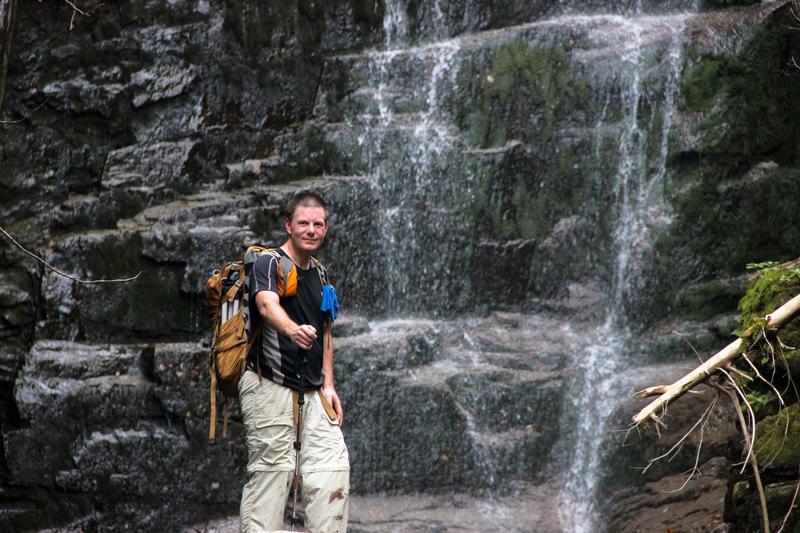 Chris Whiton at Hawthorne Falls