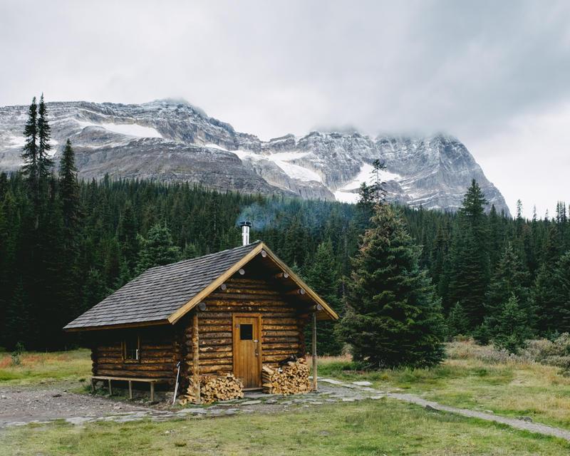 Log cabin porn danielle