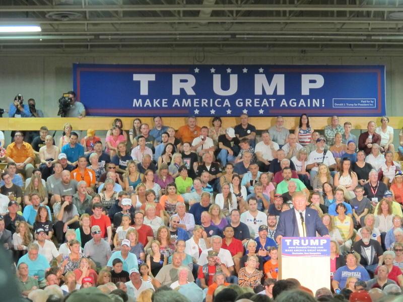 Donald Trump in Rochester. 9/17/2015