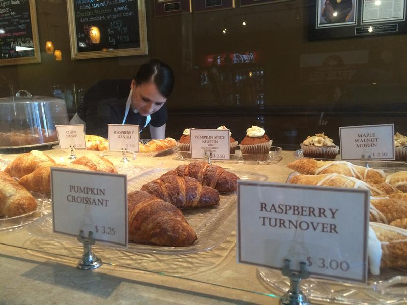 The pumpkin croissants at Finesse Pastries are their most popular treat. They sell 800 of them per week.