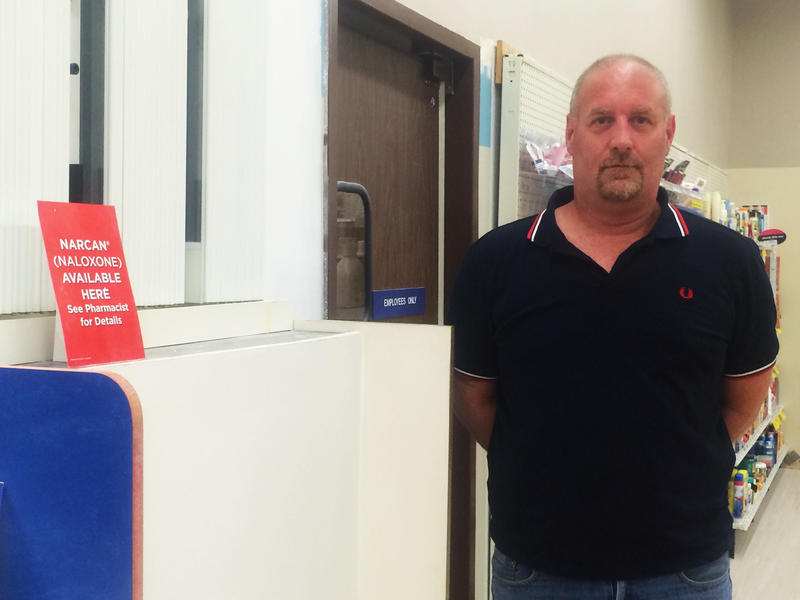 John Burns, who runs a substance abuse support group in Dover, has been working to get Narcan to families in Strafford Country