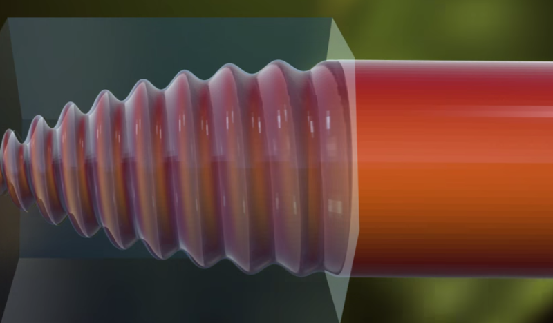 A screenshot of the Van Cor screw threads.