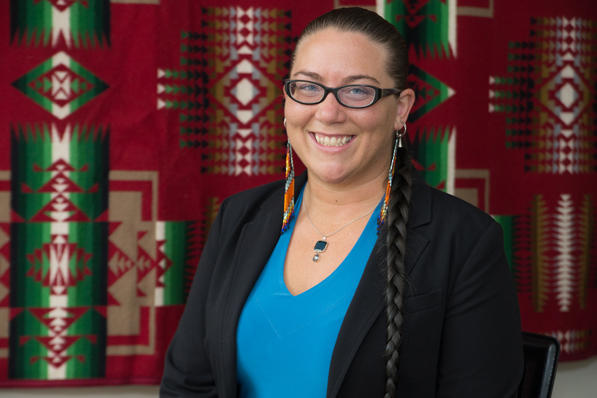 Susan Taffe Reed was named director of the Native American Program in September.