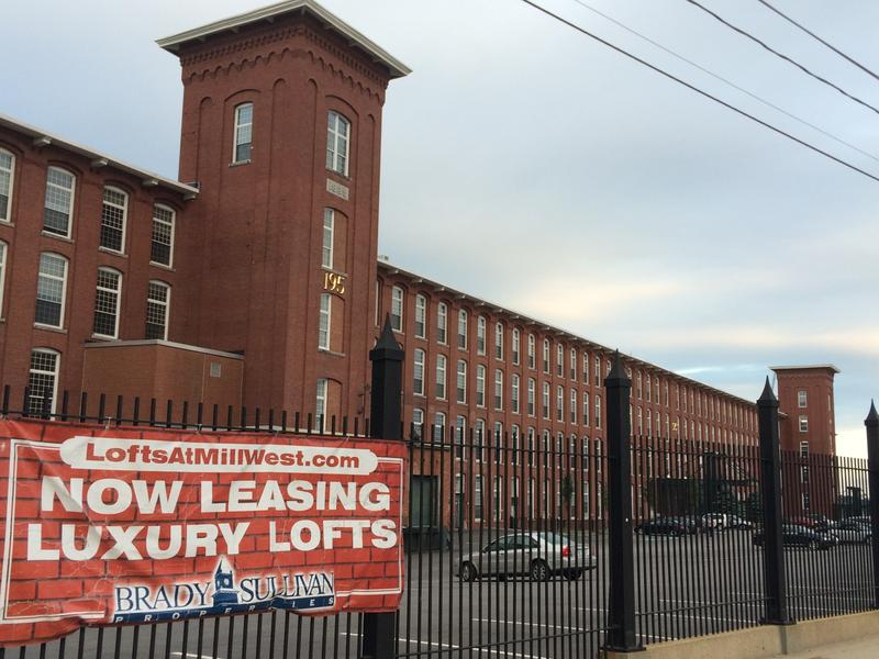 The Lofts at Mill West (195 McGregor St, Manchester) contain 98 residential units and some commercial businesses.