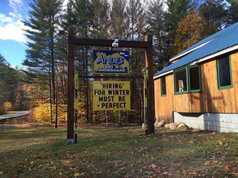 October and November is when employers in the White Mountains are looking for their next round of seasonal staff.