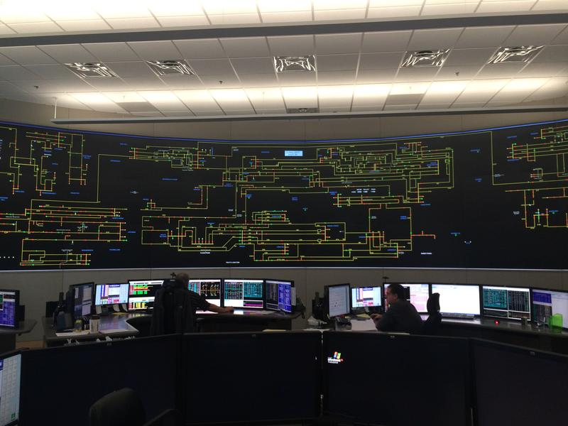 Eversource's Transmission Operation Center has been combined with a new facility that monitors lower voltage infrastructure in a new facility.