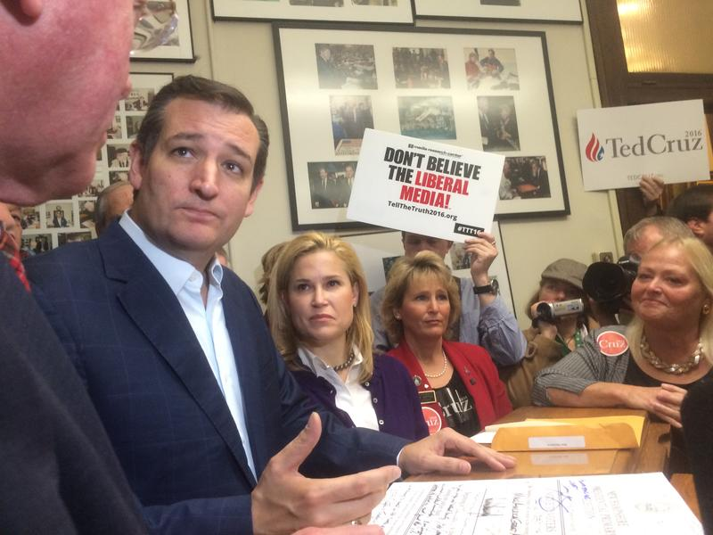 Texas Sen. Ted Cruz is one of nine nationally known candidates on the Republican primary ballot in N.H.