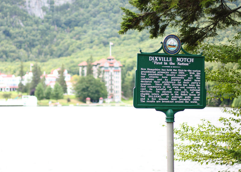Dixville Notch, New Hampshire, home to midnight voting on primary day since the 1960s.