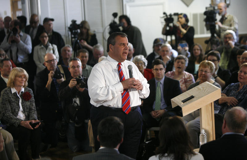 New Jersey Governor Chris Christie launched his N.H. campaign this summer with a series of town hall events