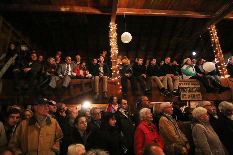 A crowd fills a barn in Rye recently to hear Sen. Marco Rubio. New Hampshire voters have had plenty of opportunities to see candidates from both parties through this primary season. Deciding on a candidate, however, can prove a bit more difficult.