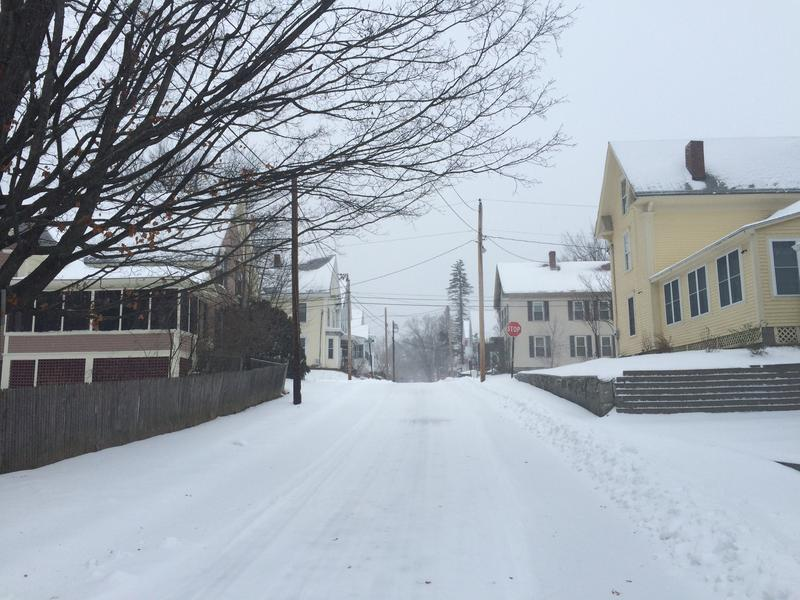 Tuesday's storm made for messy streets and sidewalks in Concord