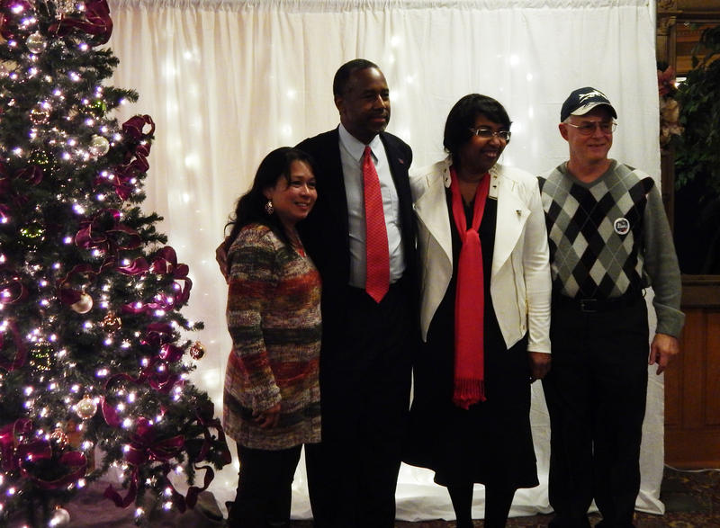 A Ben Carson staffer said that more than 600 people were in attendance.