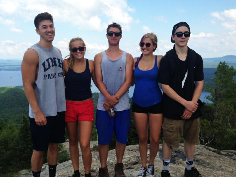 "A day after Morgan Belanger's first heroin overdose, his family took him on a hike up Mount Major for ""family day."""