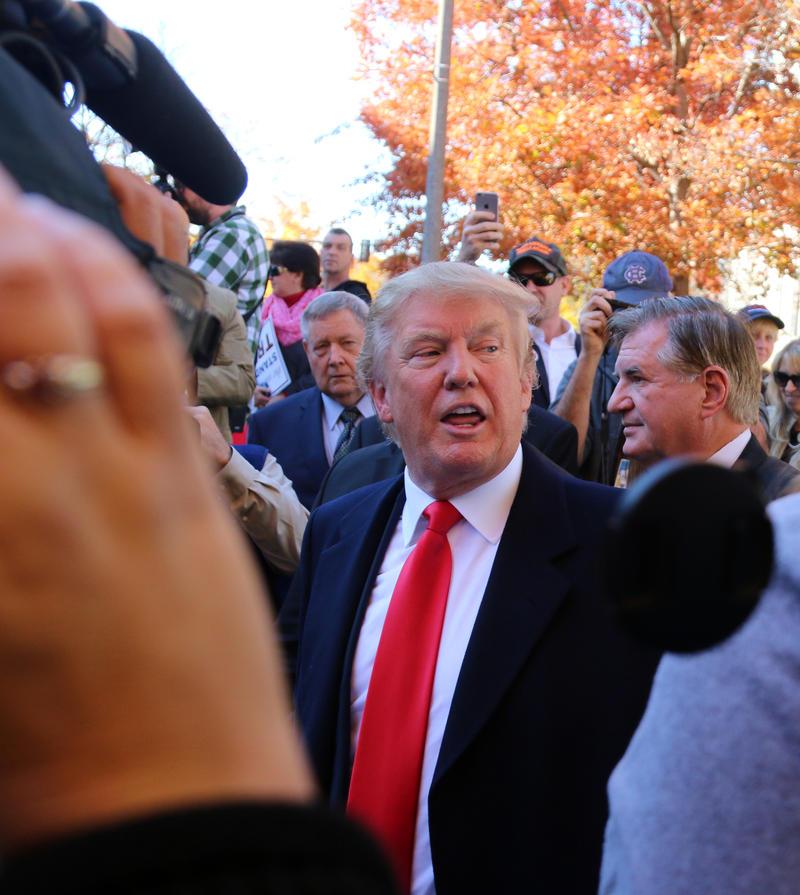 Trump on Tuesday escalated U.S. rhetoric toward North Korea.