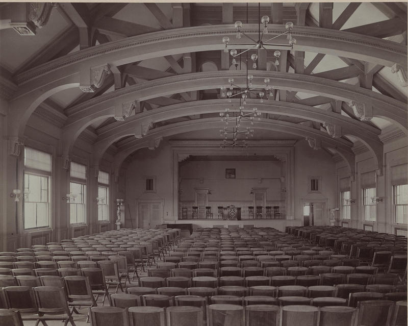 Dorchester High School auditorium, Dorchester, Boston, MA