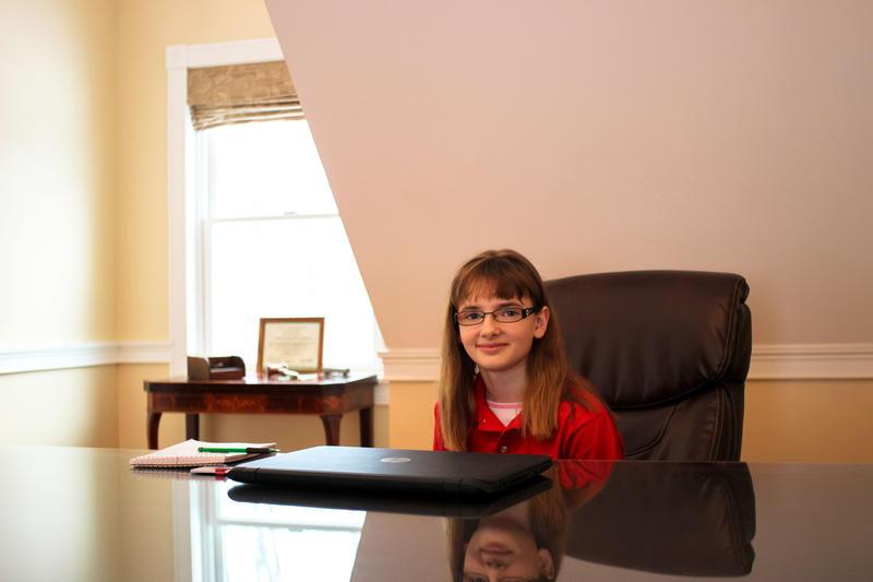 Kid Reporter Kaitlin Clark.