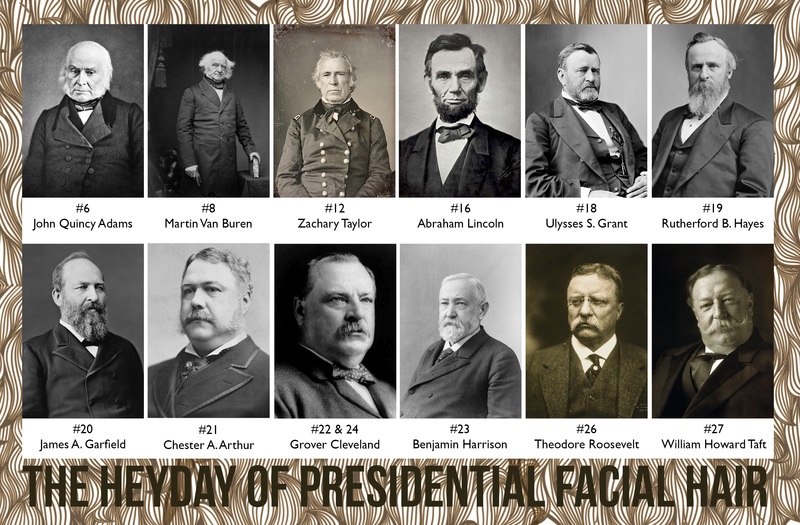 When Presidential Facial Hair Was King