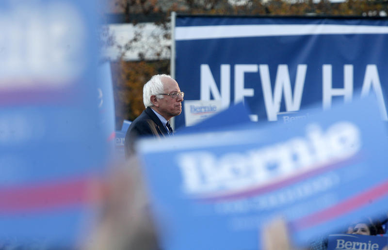 Sen. Bernie Sanders enjoys overwhelming support from independent voters in New Hampshire. Making sure those voters actually vote in the state's Democratic primary on Feb. 9 is a priority for the campaign.