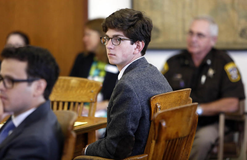 Owen Labrie at his 2015 trial