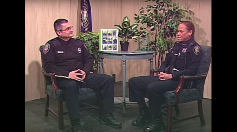 Interim Portsmouth Police Chief David Mara and Detective Rochelle Jones appear in the first episode of PPD TV. The show will profile a different officer each month.
