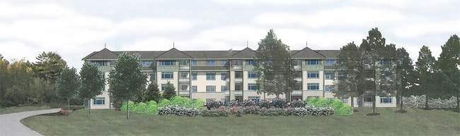 Stonegate's proposed housing project is called The Residences at Middle Hill.