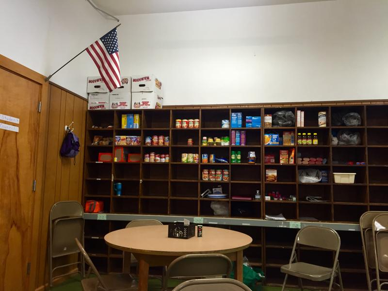 Berlin Middle School recently launched its own food pantry, housed in the teachers' lounge, to help students dealing with food insecurity.