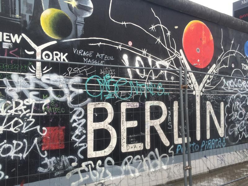 More than 118 artists from 21 countries came to Berlin to paint murals on the Eastern side of the Berlin Wall right after it came down.