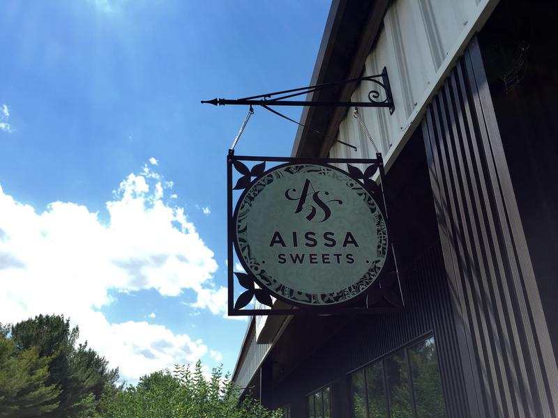 Aissa Sweets started out in a shared kitchen in Dover, but its newest location is just on the outskirts of Concord.