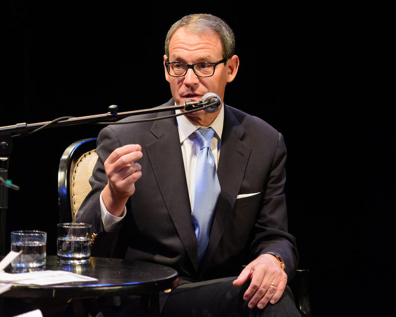 Daniel Silva at The Music Hall for Writers on a New England Stage