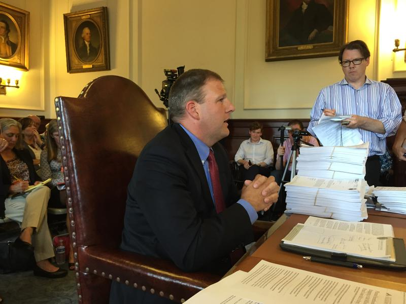 Chris Sununu, now running for governor, has earned pushback from both sides of the aisle for some of his votes on the executive council.