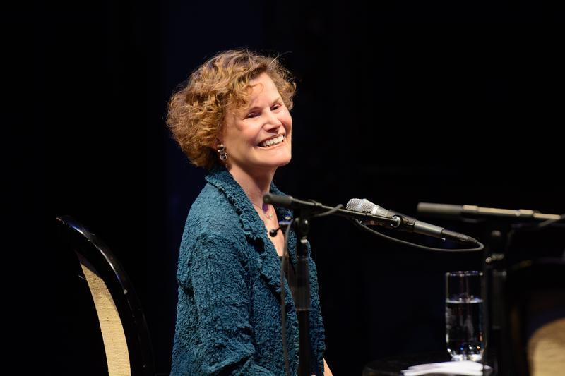 Judy Blume at Writers on a New England Stage