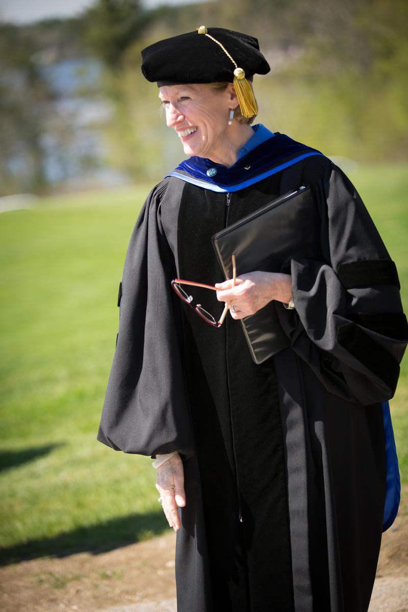 Incoming Franklin Pierce University President Kim Mooney