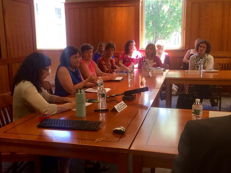 U.S. Congresswoman Anne Kuster hosted a roundtable discussion on campus sexual assault Tuesday in Concord.