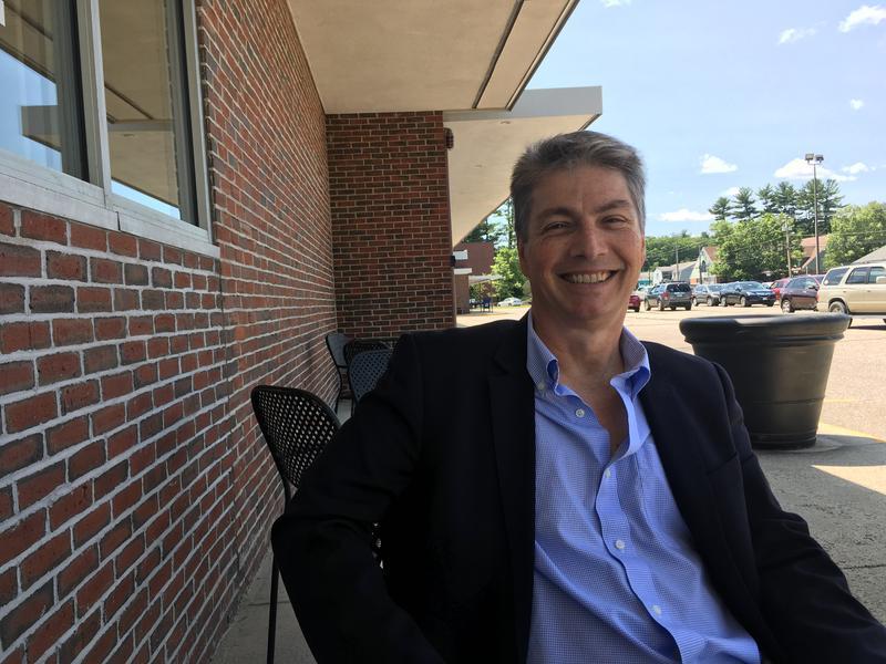 District 24 senate candidate Steve Kenda (R) of North Hampton, N.H.