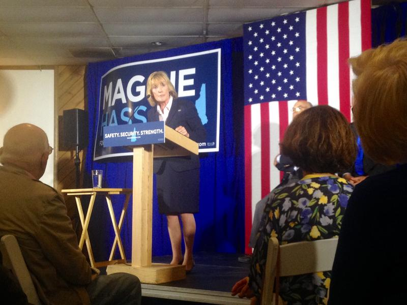 In Manchester on Wednesday Gov. Maggie Hassan released her plan on national security if elected to the U.S. Senate.