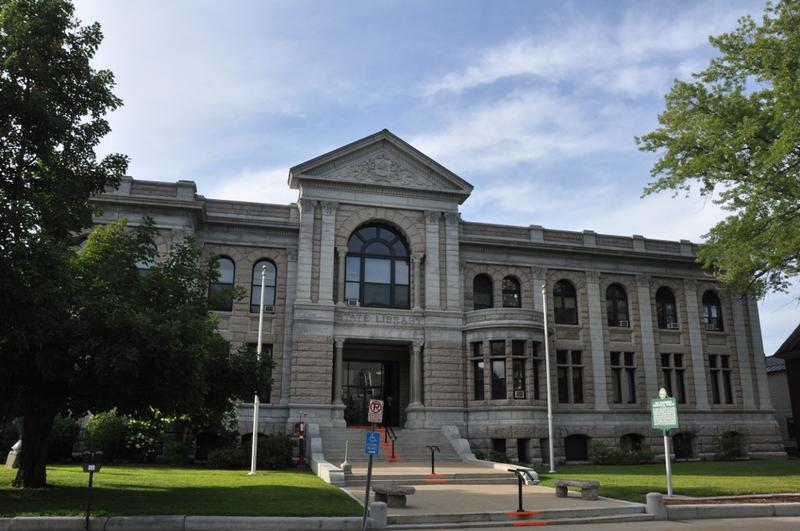 The New Hampshire State Library in Concord