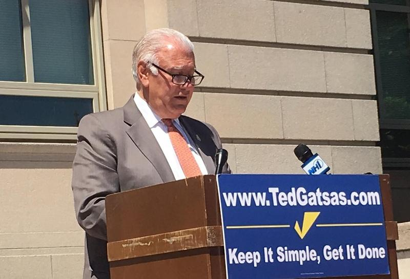 More than one third of campaign contributions to Manchester Mayor Ted Gatsas has come from real estate interests, thanks to a loophole in the state's campaign finance laws.