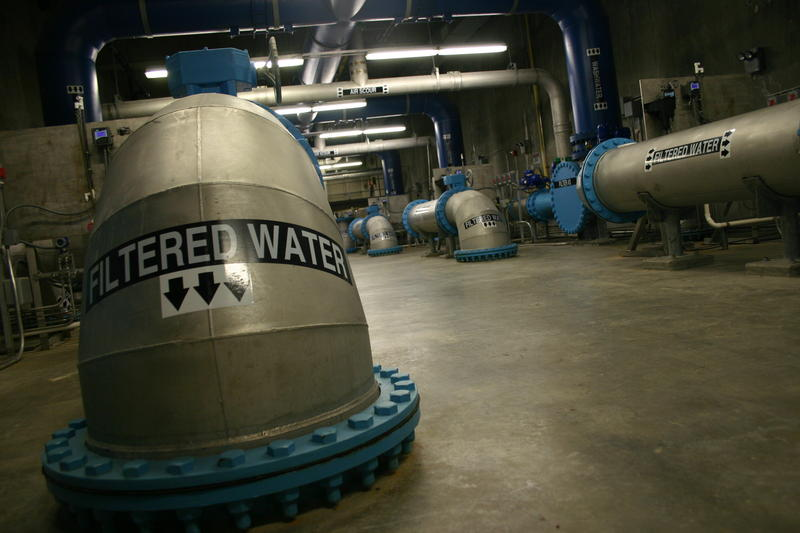 Manchester Waterworks filters on average 18 million gallons per day for consumption in the city.