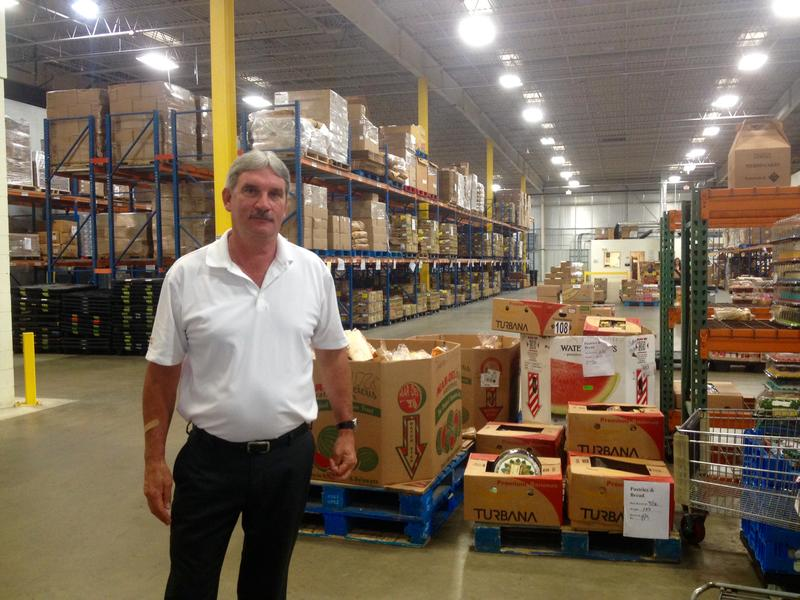 Bruce Wilson, operating director at the N.H. Food Bank, says the bank hopes to make its own food within the year.