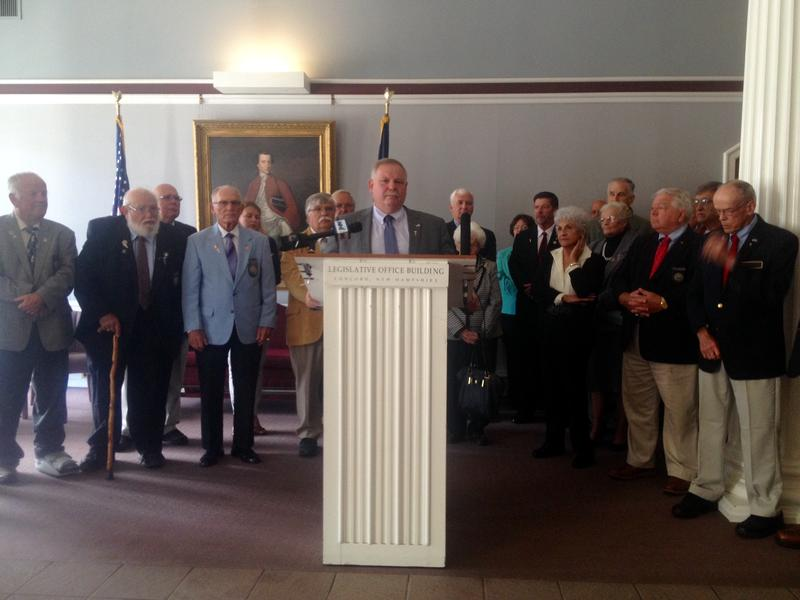 House Speaker Shawn Jasper officially announced his bid for the speakership at the State House Tuesday, Sept. 20, 2016.